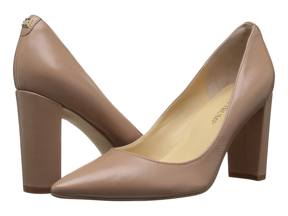 Ivanka Trump Katie (Dark Natural Leather) High Heels