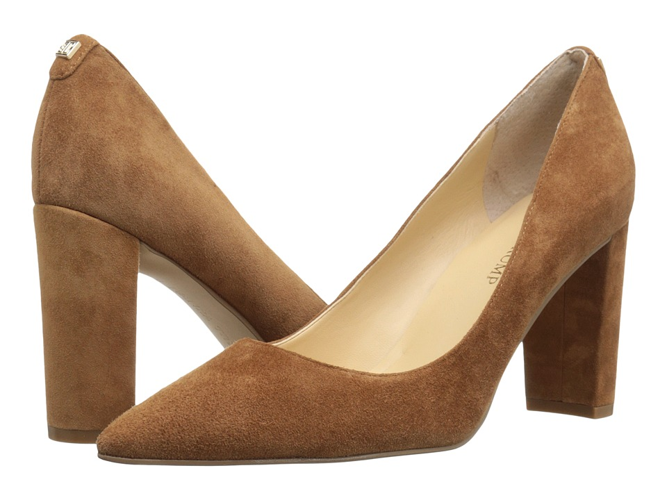 Ivanka Trump Katie (Dark Natural Suede) High Heels