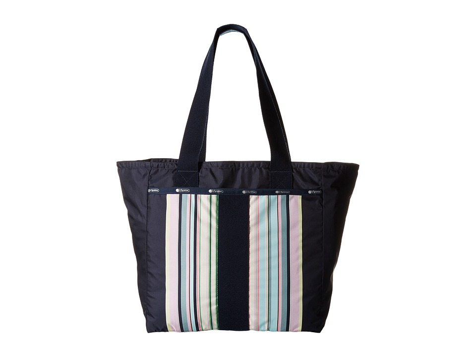LeSportsac - Everyday Tote (Towel Stripe Large) Tote Handbags