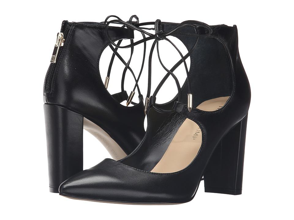 Ivanka Trump - Kellsee (Black Leather) High Heels