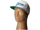 PUMA Golf Kids Script Snapback Cap (Big Kids) (White/Atomic Blue)