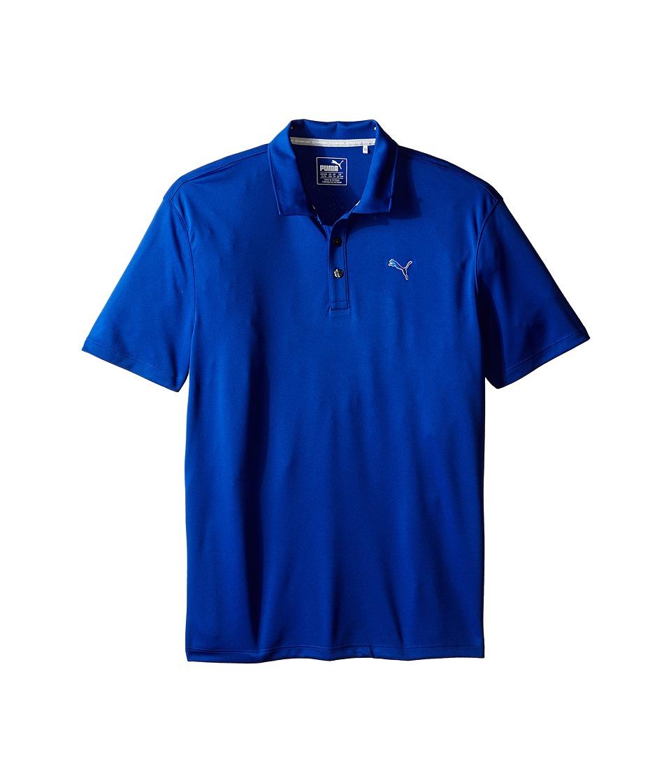 PUMA Golf Kids Essential Pounce Polo JR Big Kids Surf The Web Boys Clothing