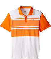PUMA Golf Kids - Pattern Block Polo JR (Big Kids)