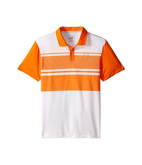 PUMA Golf Kids Pattern Block Polo JR (Big Kids)