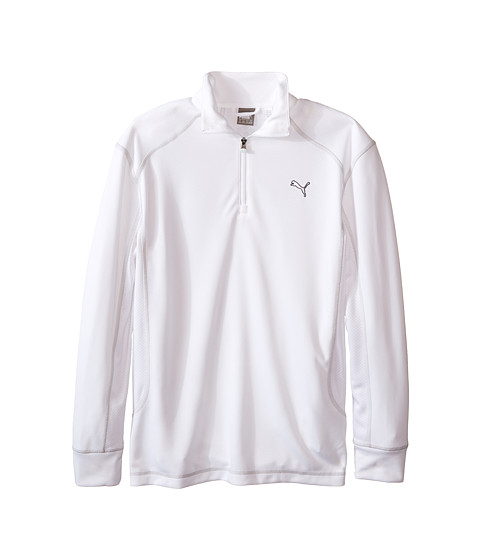 PUMA Golf Kids Golf L/S 1/4 Zip Top (Big Kids)