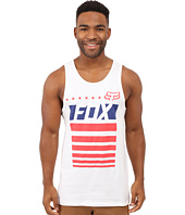 Fox - Red, White and True Tank Top