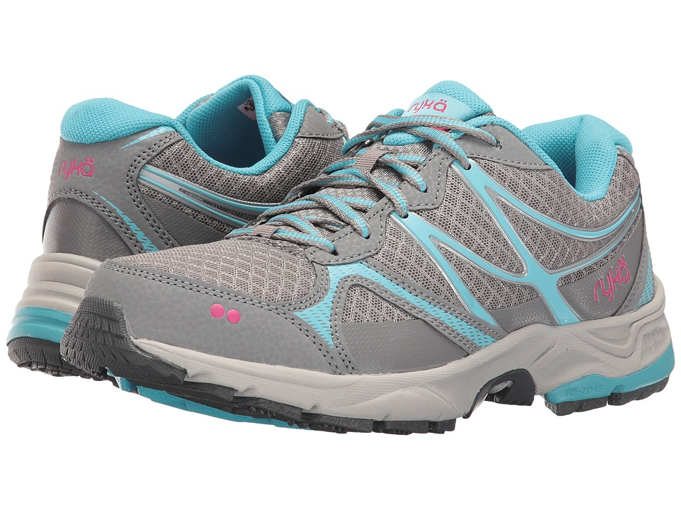 Ryka Revive RZX (Forst Grey/Nirvana Blue/Ryka Pink) Women