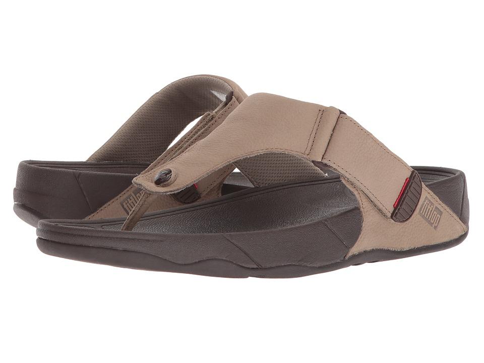 FitFlop - Trakk II - Nubuck (Timberwolf) Mens Sandals