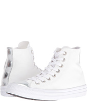 Converse - Chuck Taylor® All Star® Brush-Off Leather Toecap Hi