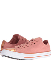 Converse - Chuck Taylor® All Star® Brush-Off Leather Toecap Lo