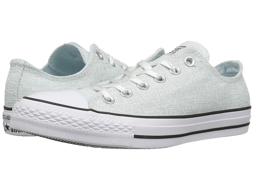 Converse Chuck Taylor All Star Sparkle Knit Ox (Polar Blue/Black/White) Women