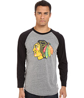 The Original Retro Brand - Chicago Blackhawks Long Sleeve Raglan