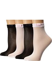 Kate Spade New York - 4-Pack Anklet Socks