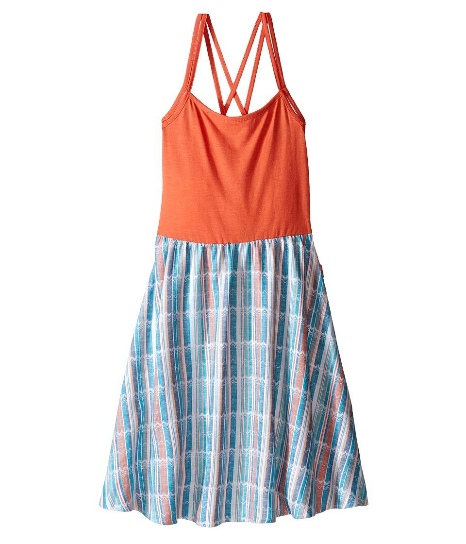 Roxy Kids Maui Beach Dress Big Kids Living Coral Girls Dress