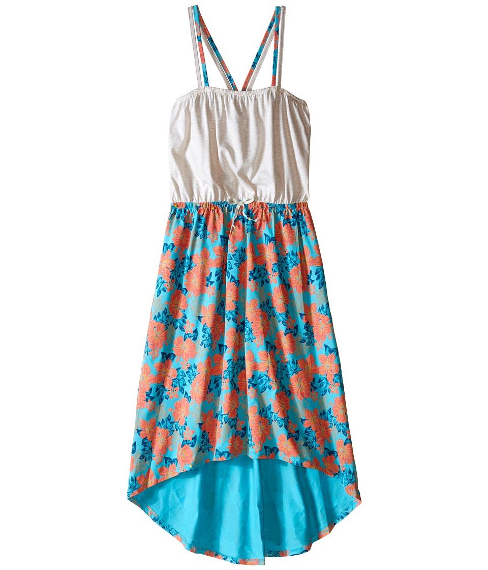 Roxy Kids Petunia Bloom Dress Big Kids Metro Heather Girls Dress