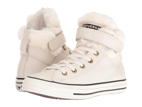 Converse Chuck Taylor® All Star® Brea Leather + Fur Hi