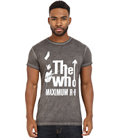 The Original Retro Brand - Short Sleeve Oil Wash The Who T-Shirt