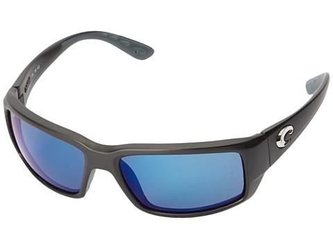 Costa Fantail - Black Frame/Blue Mirror 580P