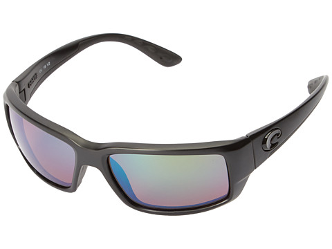 Costa Fantail - Blackout Frame/Green Mirror Glass W580