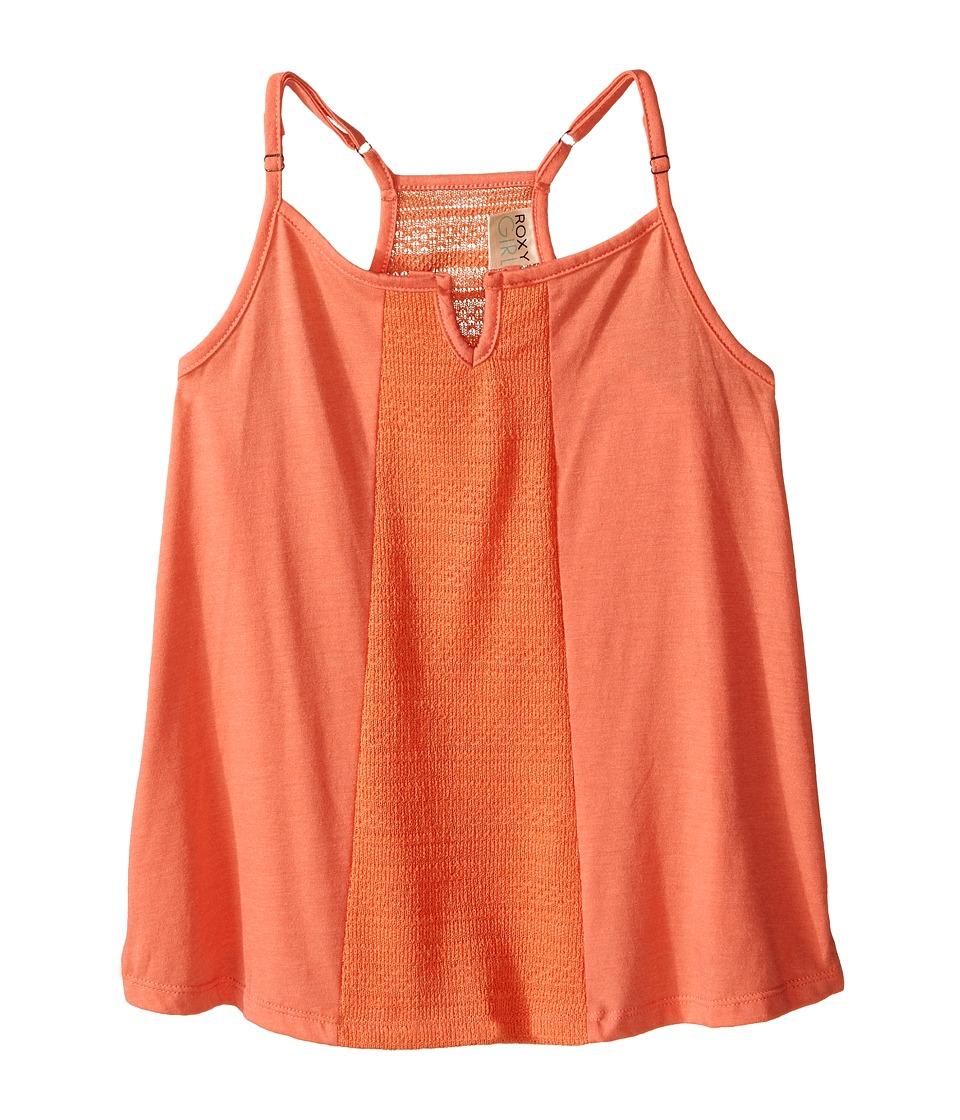 Roxy Kids Cali Girl Top Big Kids Living Coral Girls Clothing