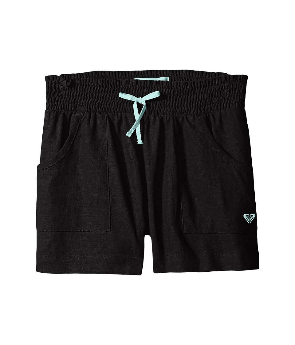 Roxy Kids Beach Comber Shorts Big Kids Black Girls Shorts
