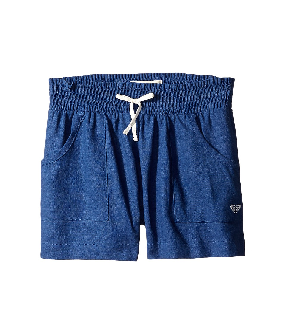 Roxy Kids Beach Comber Shorts Big Kids Chambray Girls Shorts