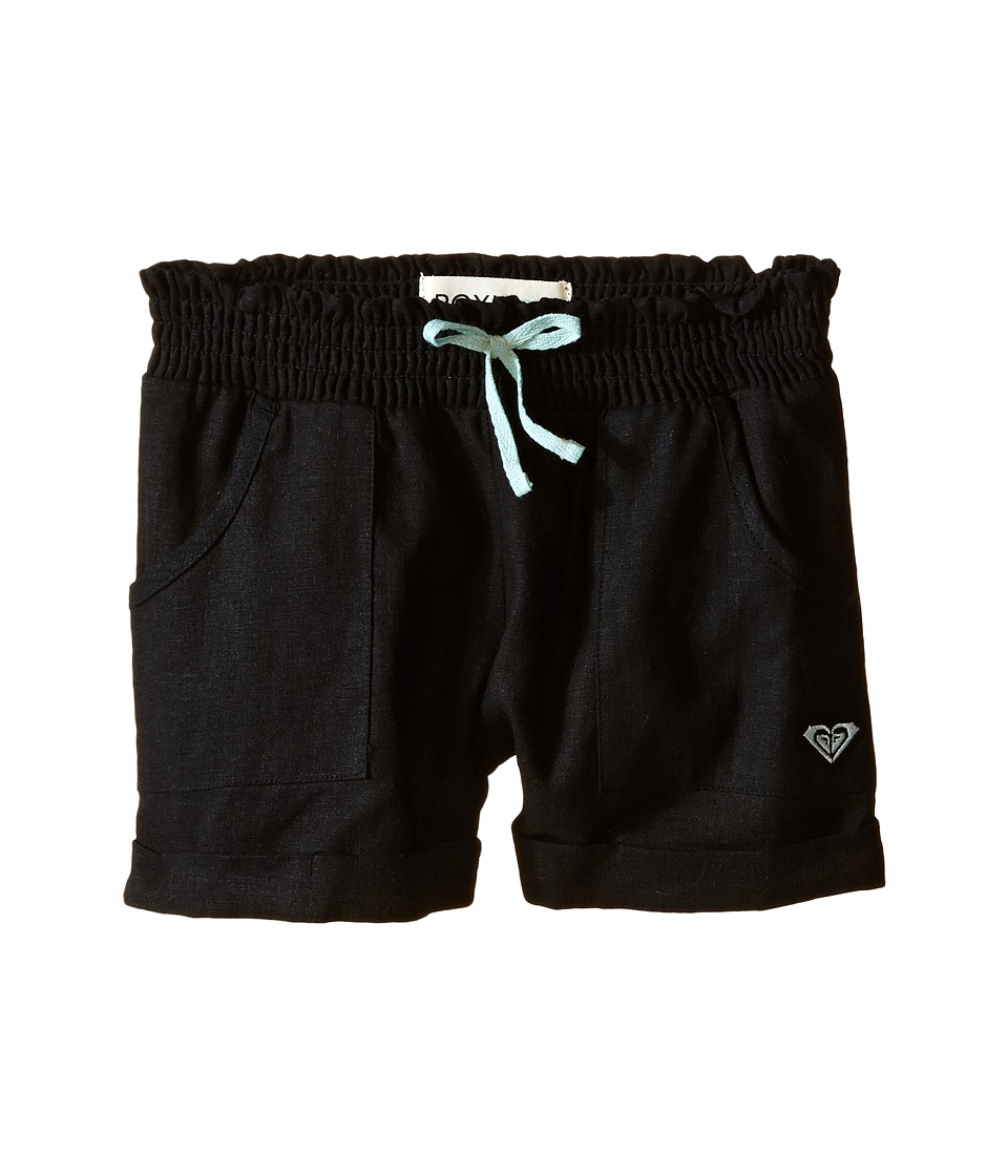 Roxy Kids Beach Comber Shorts Toddler/Little Kids Black Girls Shorts