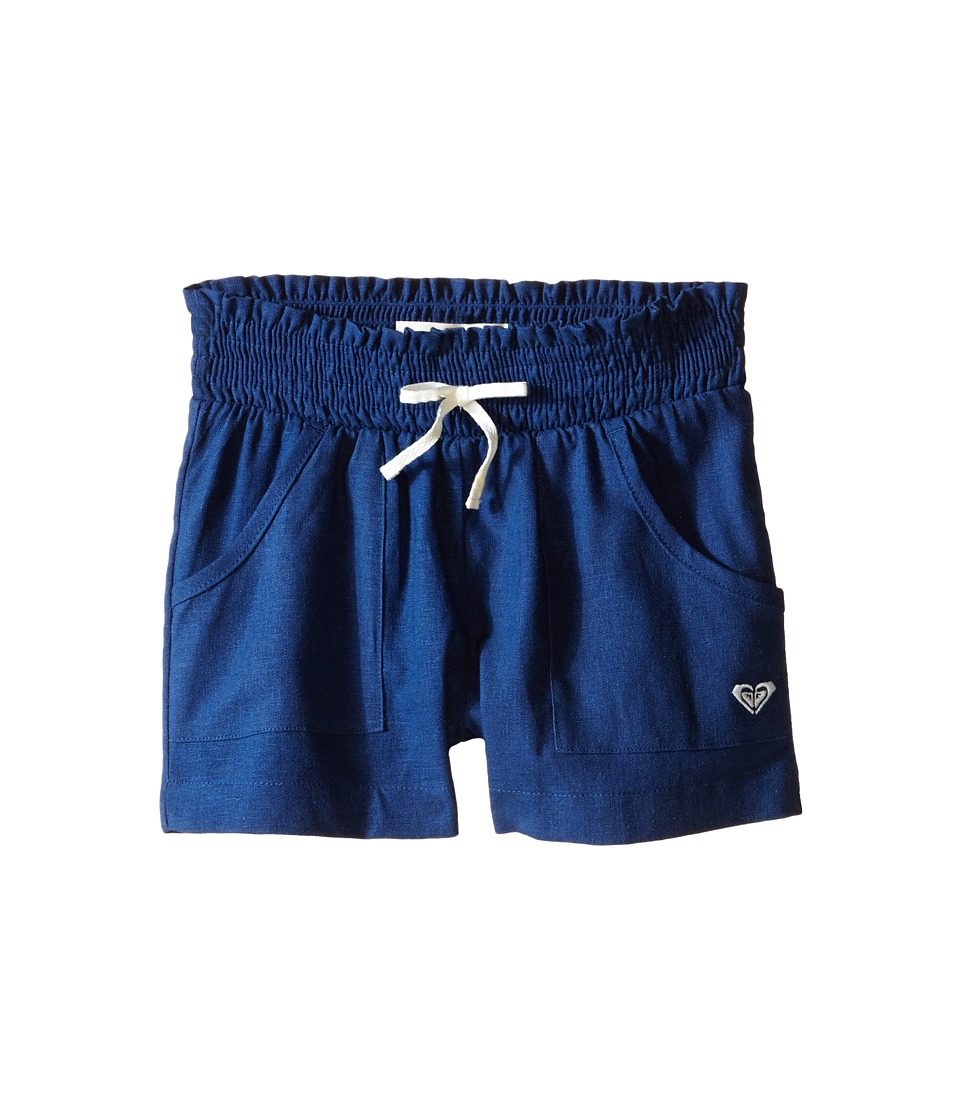 Roxy Kids Beach Comber Shorts Toddler/Little Kids Chambray Girls Shorts