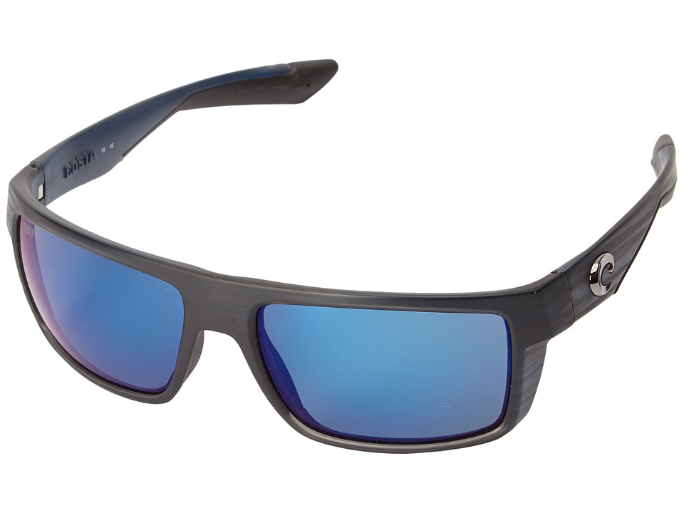 Costa Motu (Black Teak Frame/Blue Mirror 580P) Fashion Su...