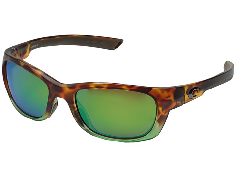 Costa Trevally - Matte Tortuga Fade Frame/Green Mirror 580P