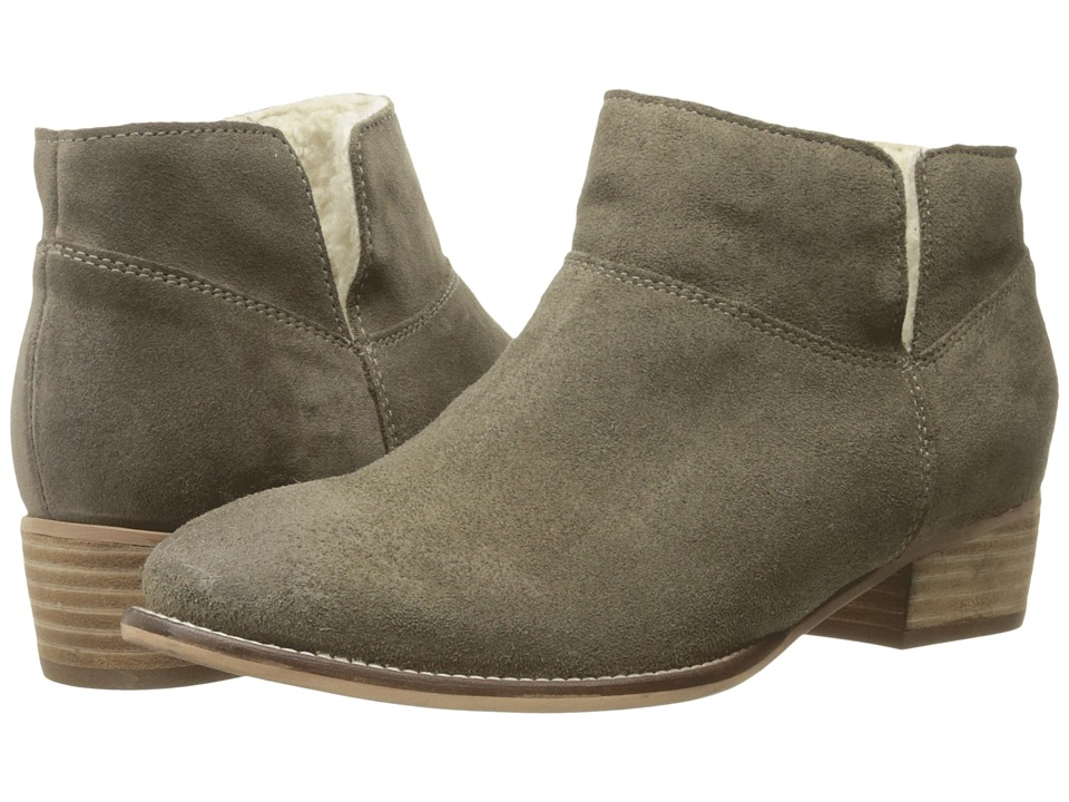 Seychelles Snare Cozy (Taupe Suede/Shearling) Women