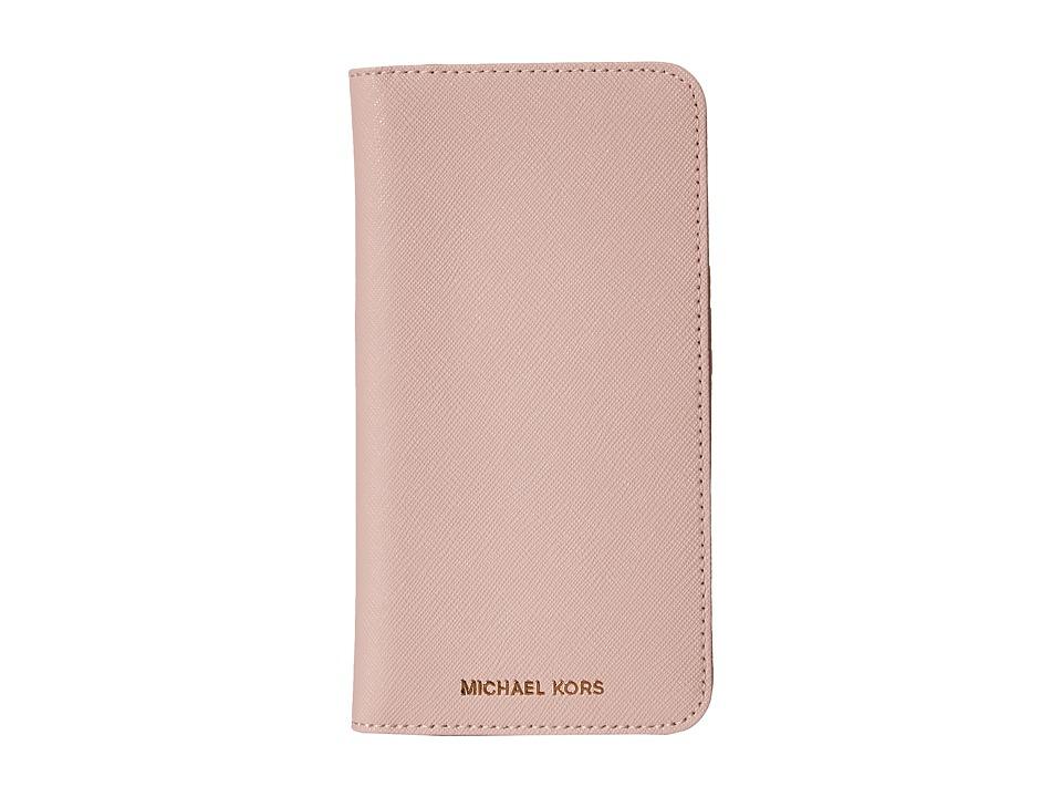 MICHAEL Michael Kors - Electronics Folio Phone Case 6+ (Blossom) Cell Phone Case