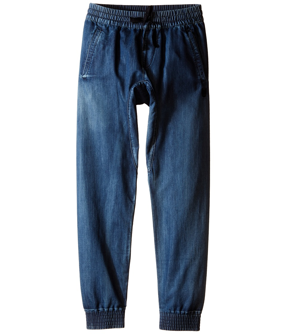 Munster Kids Denim Cruz Pants Big Kids Beaten Blue Boys Casual Pants