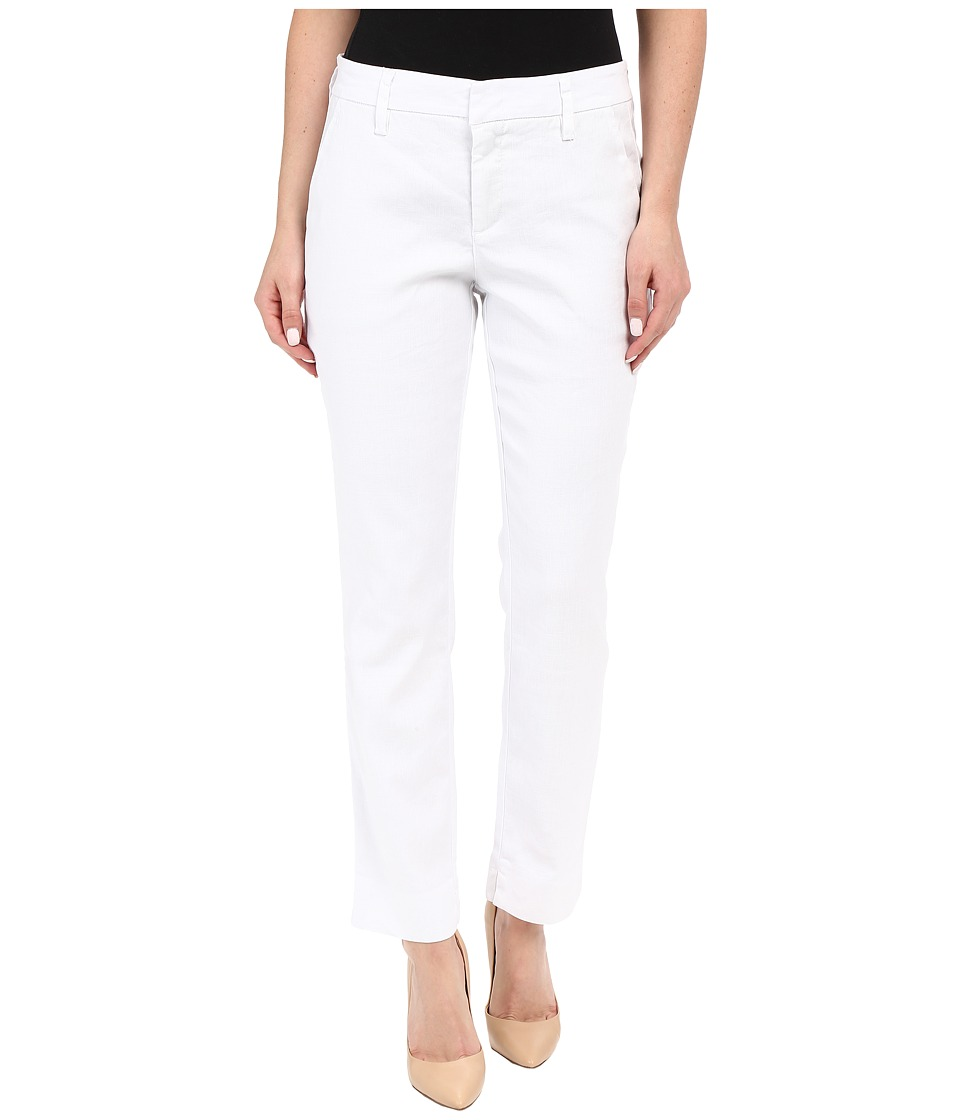 Level 99 Becky Trousers Optic White Womens Casual Pants