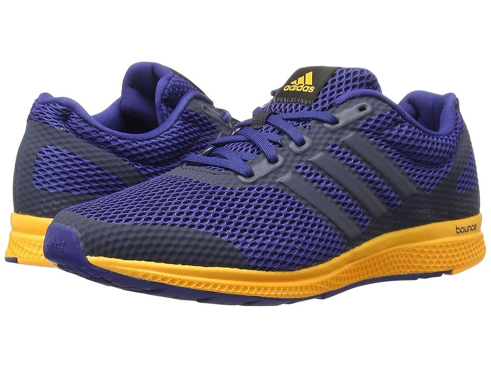 adidas Running - Mana Bounce (Night Navy/Unity Ink/Solar Gold) Mens Running Shoes