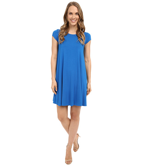 Karen Kane Royal Blue Maggie Trapeze Dress