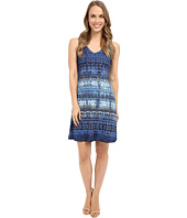 Karen Kane - Blue Batik Brigitte Dress