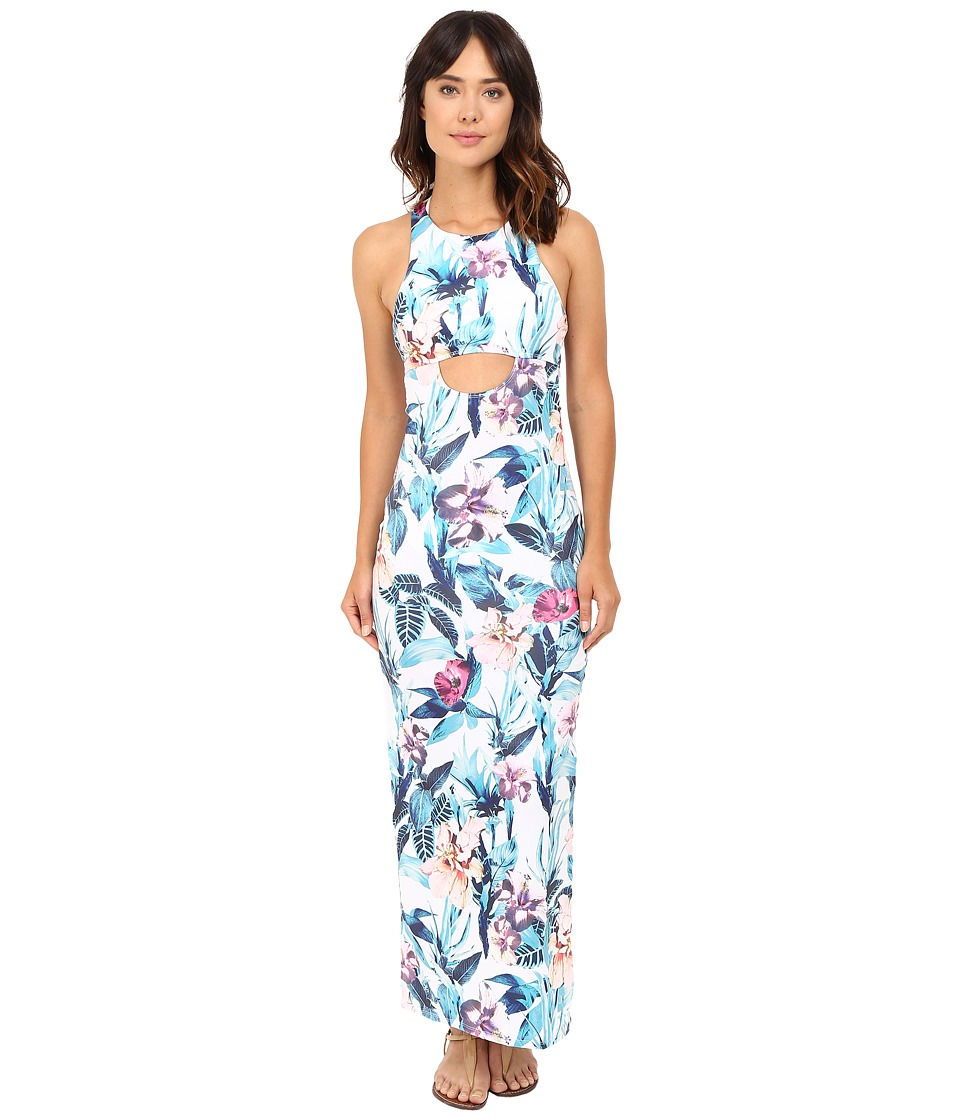 Image of 6 Shore Road by Pooja - 24 hr Maxi Dress Cover-Up (Colonial Floral) Women's Swimwear