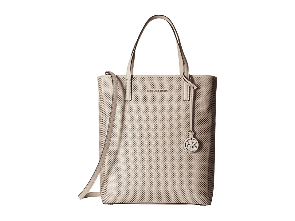 MICHAEL Michael Kors - Hayley Large North/South Top Zip Tote (Cement) Tote Handbags