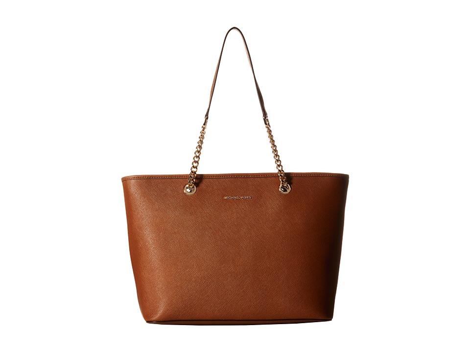 MICHAEL Michael Kors - Jet Set Travel Chain Top Zip Mult Funt Tote (Luggage) Tote Handbags