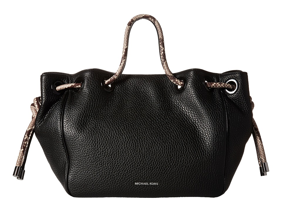 MICHAEL Michael Kors - Dalia Large Shoulder Tote (Black) Tote Handbags