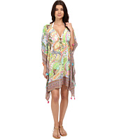 Bleu Rod Beattie - La Vie Boheme Caftan Cover-Up