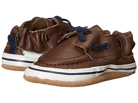 Robeez Connor Soft Sole (Infant/Toddler) - Brown