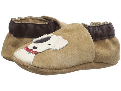Robeez Doggy Dale Soft Sole (Infant/Toddler) - Beige