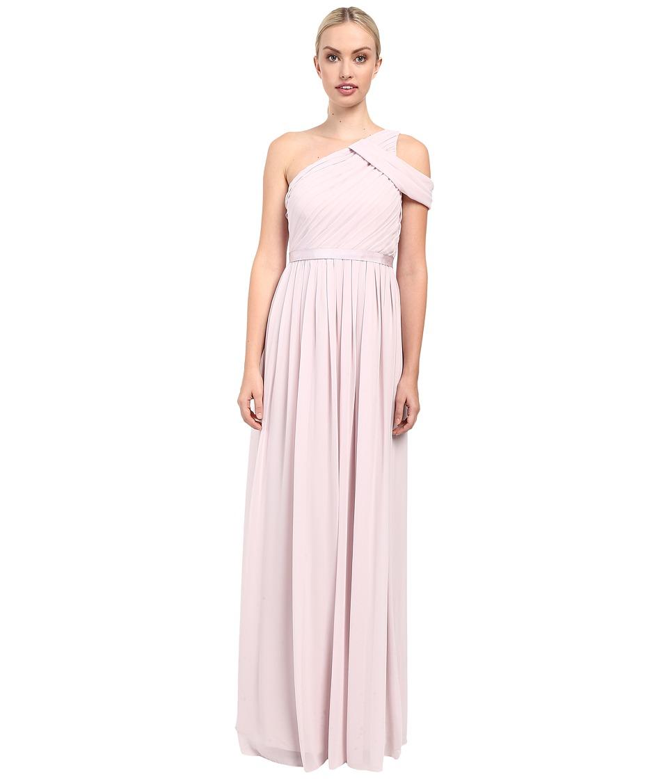 Donna Morgan Chloe One Shoulder (Palest Pink) Women