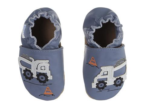 Robeez Little Dump Truck Soft Sole (Infant/Toddler) - Blue