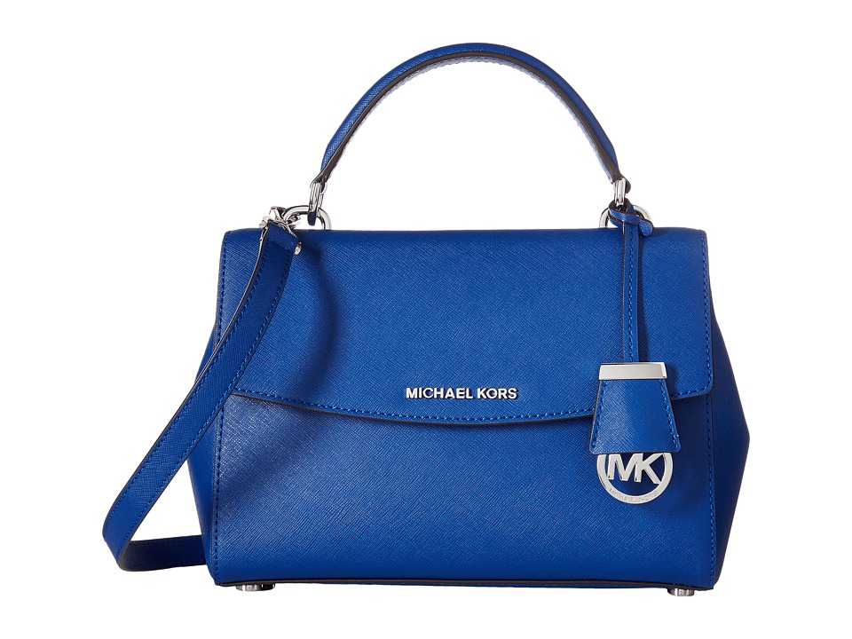MICHAEL Michael Kors - Ava Small Top-Handle Satchel (Electric Blue) Satchel Handbags