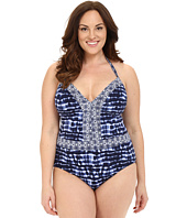 Bleu Rod Beattie - Plus Size I've Got You Babe Halter One-Piece