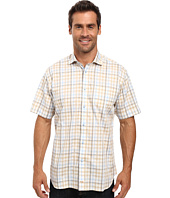 Thomas Dean & Co. - Short Sleeve Woven Shadow Multi Check