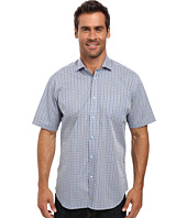 Thomas Dean & Co. - Short Sleeve Woven Dobby Check